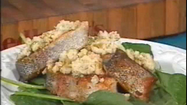 Trout Steaks with Yams- Cooking Made Simple by Belucci