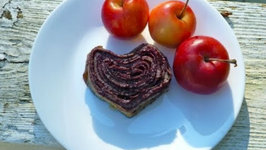 Cherry Crepe Rolls (Gluten Free) - Valentine's Recipes Collaboration - Part 1