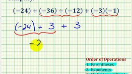 Ex 3:  Simplify Expressions Involving Integers Using the Order of Operations