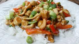 Chicken Stir Fry with White Jasmine Rice