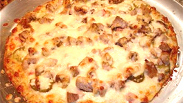 Tasty Cuban Pizza