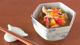 Chicken and Bell Peppers in Chinese Sauce