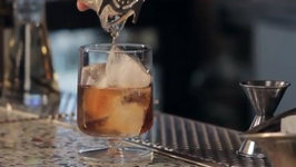 How to Make Root Bourbon Old Fashioned