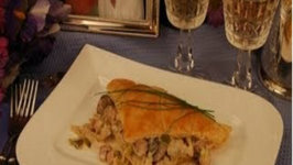 Do You Dare Date Night Dinner / Puff Pastry with Ham and Mushrooms