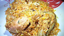 Simple Chicken Biryani
