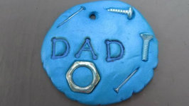 How to Make a Father's Day Key Chain Craft Tutorial