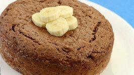 Chocolate Banana Cake by Tarla Dalal