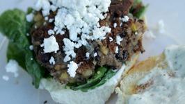 Adams Veggie Burgers (Vegan-ish)