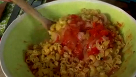 Roasted Onion & Tomato Pasta