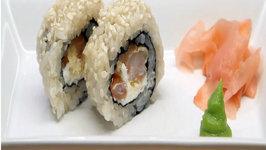 Shrimp Tempura Cream Cheese Rolls