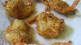 Heart-Healthy Beer Battered Shrimp