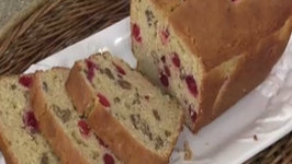 Cranberry and Eggnog Bread