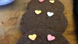 Valentine's Day Chocolate Cookies - 4 Ingredient Cookies