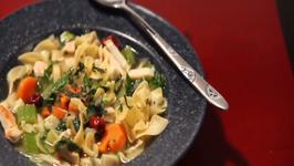 Cathlyn's Korean Kitchen Episode 4 Chicken Gingseng Noodle Soup