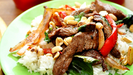 Thai Beef and Peanuts