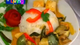 Spicy Hot Vegan Thai Red Curry with Tofu and Eggplant- Part 2: Preparation