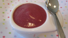 Plum and Banana Puree
