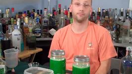 Homemade Melon Liqueur