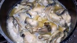 Sauteed Oysters in Garlic and Butter