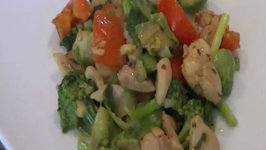 Indian Chicken Stir-Fry