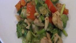 Indian Chicken Stir-Fry