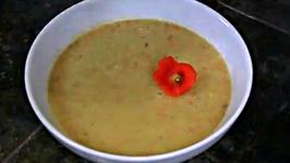 Raw Carrot Apple Avocado Soup