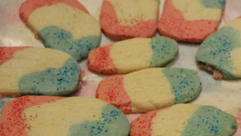 Cheryls Home Cooking/Red White and Blue Cookies