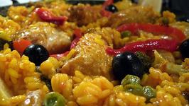 Shrimp Chicken Paella