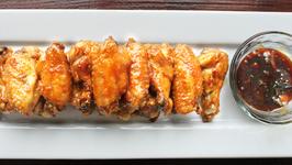 Wasabi Glazed Chicken Wings