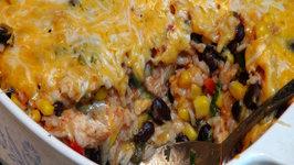 Chicken Brown Rice Casserole - TexMex