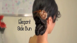 Hair Tutorial: Elegant Side Bun