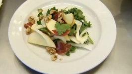 Apple, Fennel, Bresaola Salad