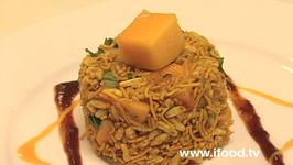 Puffed Rice And Mango Salad