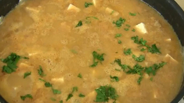 Red Lentils with Tofu