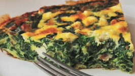Crustless Greek Spinach And Feta Cheese Pie