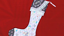 Do It Yourself Quilted Christmas Stocking How To Tutorial