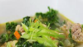 Sausage, Kale and Bean Soup