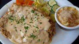Southern Fried Chicken with Cream Gravy