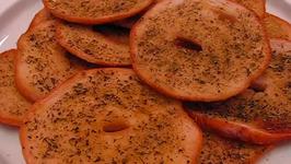 Crispy Bagels