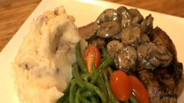 Part 1 - New York Steak, Green Beans & Roasted Garlic Mashed Potatoes