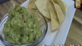 Easy and Fresh Homemade Guacamole