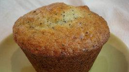 Rhubarb Poppyseed Yogurt Muffins - Part 1