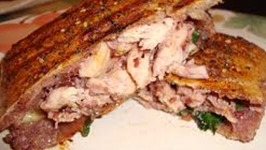 Healthy Grilled Chicken Swiss and Apple Panini