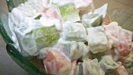 Easy Vegetarian Russian Salad