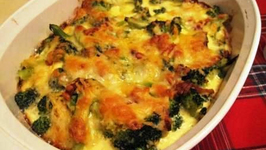 Crabmeat Broccoli Casserole