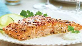 Wegmans Cedar-Plank Salmon with Brown Sugar and Cracked Pepper