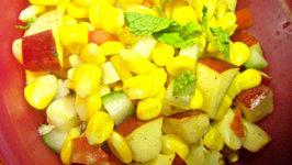 Sweet Corn and Apple Salad