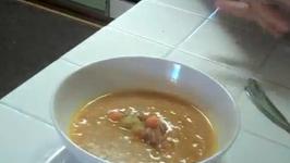 Pumpkin and Acorn Squash Soup