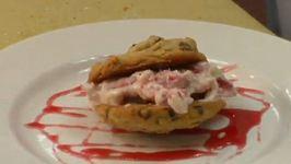 Strawberry Cream Sandwich