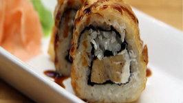 Creamy Chicken Tempura Rolls